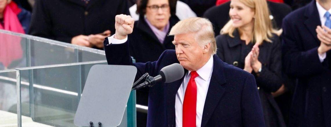 President Trump's full speech inaugural address.